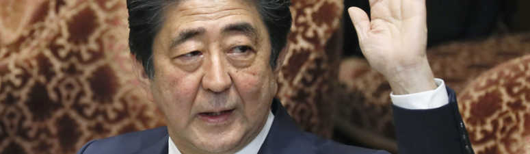 Abe mum on Trump's claim of nomination for Nobel Peace Prize