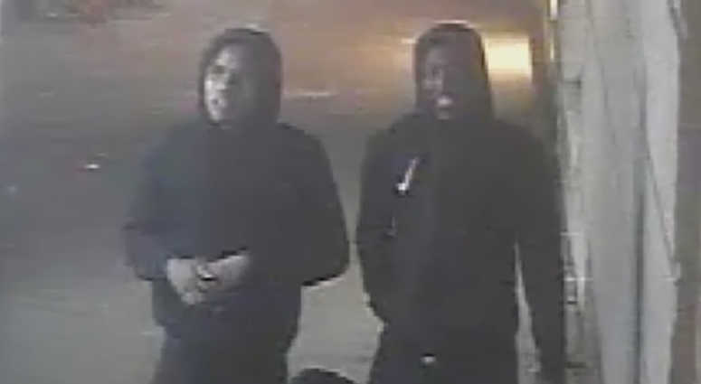Cops say these two violently robbed a 93-year-old woman on her birthday.