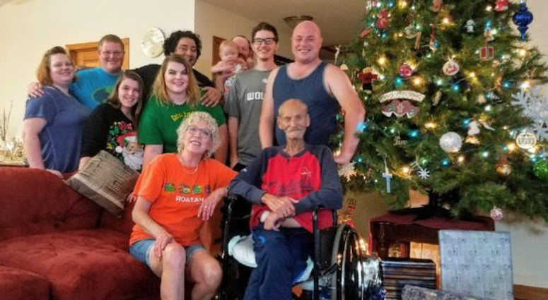 family celebrates christmas in july for father battling cancer - Who Celebrates Christmas