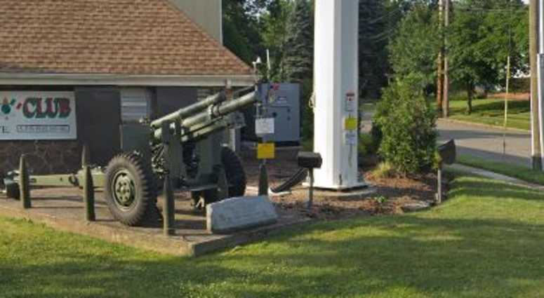 Cannon located outside of the Fair Lawn, N.J. VFW.