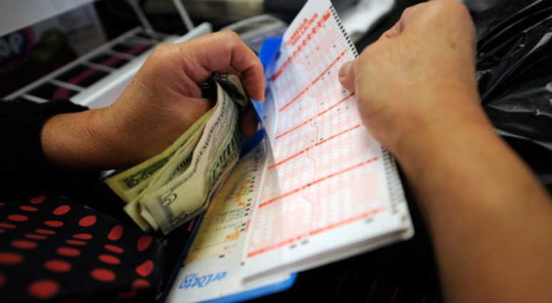 The Mega Millions winning numbers for the $1 billion jackpot are...