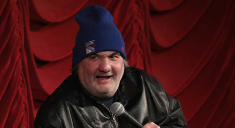 Artie Lange takes part in SiriusXM host Ron Bennington's annual Thanksgiving Special at Hard Rock Cafe