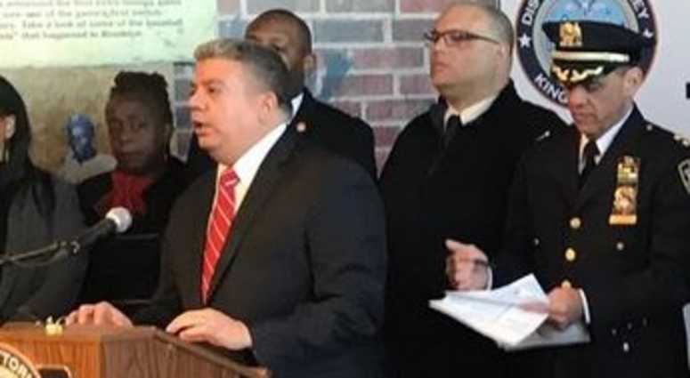 Brooklyn District Attorney Eric Gonzalez
