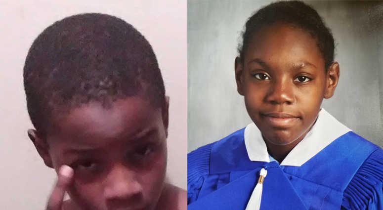 Andrew Hillard, 9, and Lala Washington, 12, are missing from their Brownsville neighborhood.