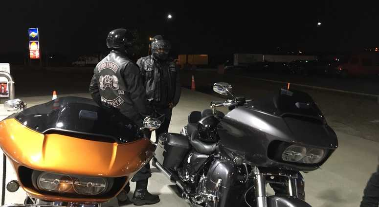 Memorial Day weekend means an early start for members of a motorcycle club who say they may ride all the way down to Florida.