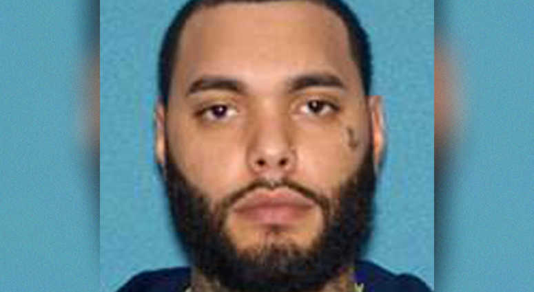 Larry Ortiz, 28, of North Bergen is accused of firing a gun in Newark.