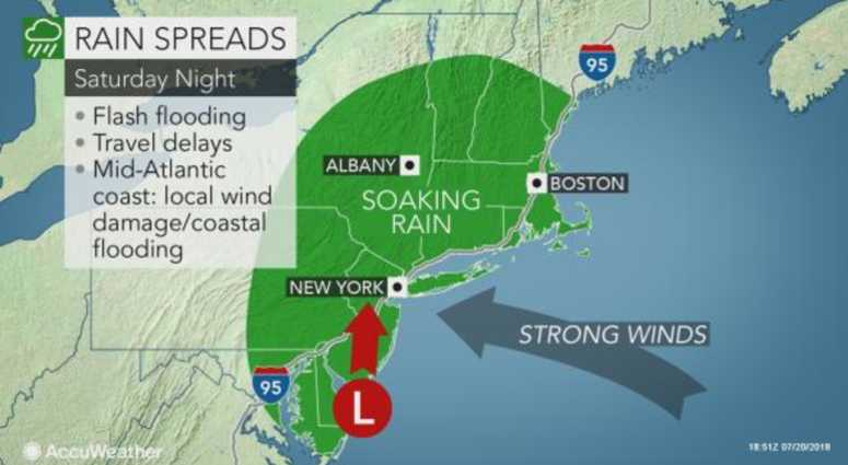 A Nor'Easter Will Slam The NYC Area This Weekend