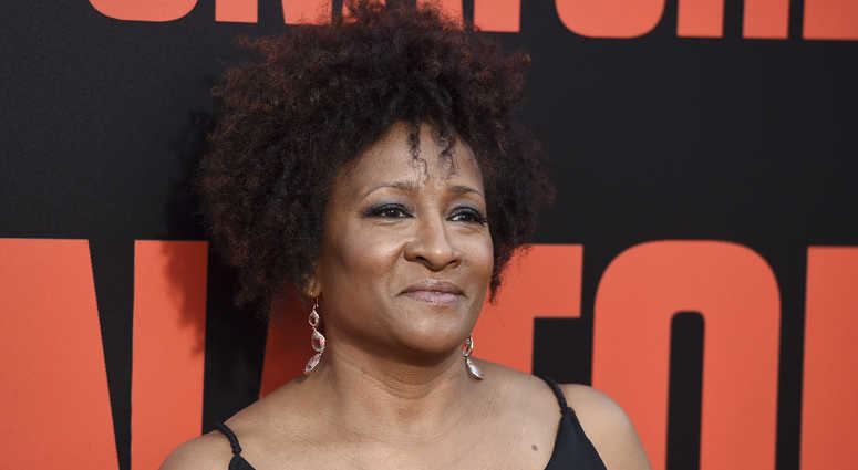 "In this May 10, 2017 file photo, Wanda Sykes arrives at the Los Angeles premiere of ""Snatched"" at the Regency Village Theatre"