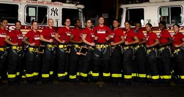 15 women graduating from FDNY today -- the most since 1982