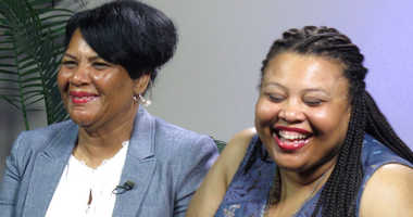 Alice Johnson and daughter