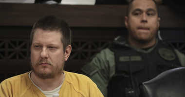 In this Jan. 18, 2019 file photo, former Chicago police Officer Jason Van Dyke attends his sentencing hearing at the Leighton Criminal Court Building in Chicago