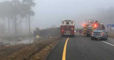 Virginia charter bus crash