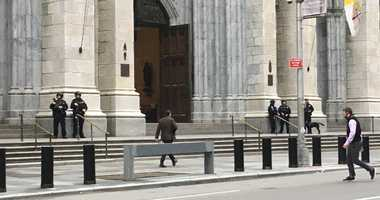 Security at St. Patrick's