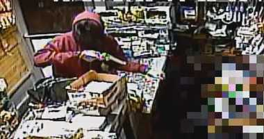 Cops are looking for two men who robbed a Harlem deli at gunpoint.