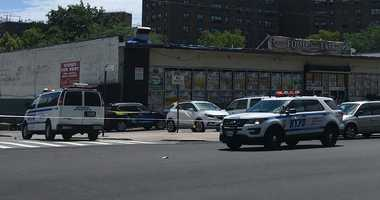 Three people were killed in a shooting in the Castle Hill section of the Bronx.