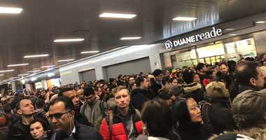 Port Authority shuts 2 floors during storm, chaos ensues