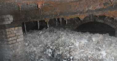 A massive fatberg found in the sewers beneath a town in Southwestern England.