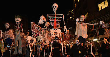 Parade participants during the 43rd Annual Village Halloween Parade on October 31, 2016 in New York City.