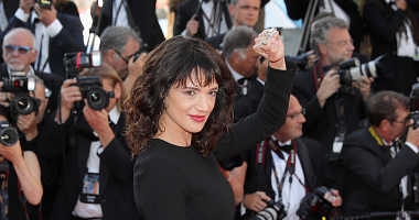 CANNES, FRANCE - MAY 19: Asia Argento attends the screening of 'The Man Who Killed Don Quixote'