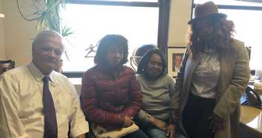 The family of Anthony Myrie