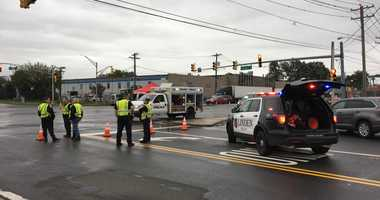 An off duty cop was killed when a car he was riding in slammed into a truck on Rt 1 in Linden.