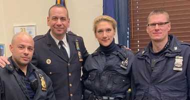 Officers Timofeeva & Drozd saved a 7-year-girl from a serious asthma attack.