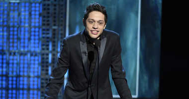 Pete Davidson speaks at a Comedy Central Roast