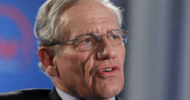 This June 11, 2012 file photo shows former Washington Post reporter Bob Woodward speaking during an event to commemorate the 40th anniversary of Watergate in Washington.