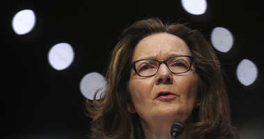 In this May 9, 2018 photo, CIA nominee Gina Haspel testifies during a confirmation hearing of the Senate Intelligence Committee, on Capitol Hill in Washington.