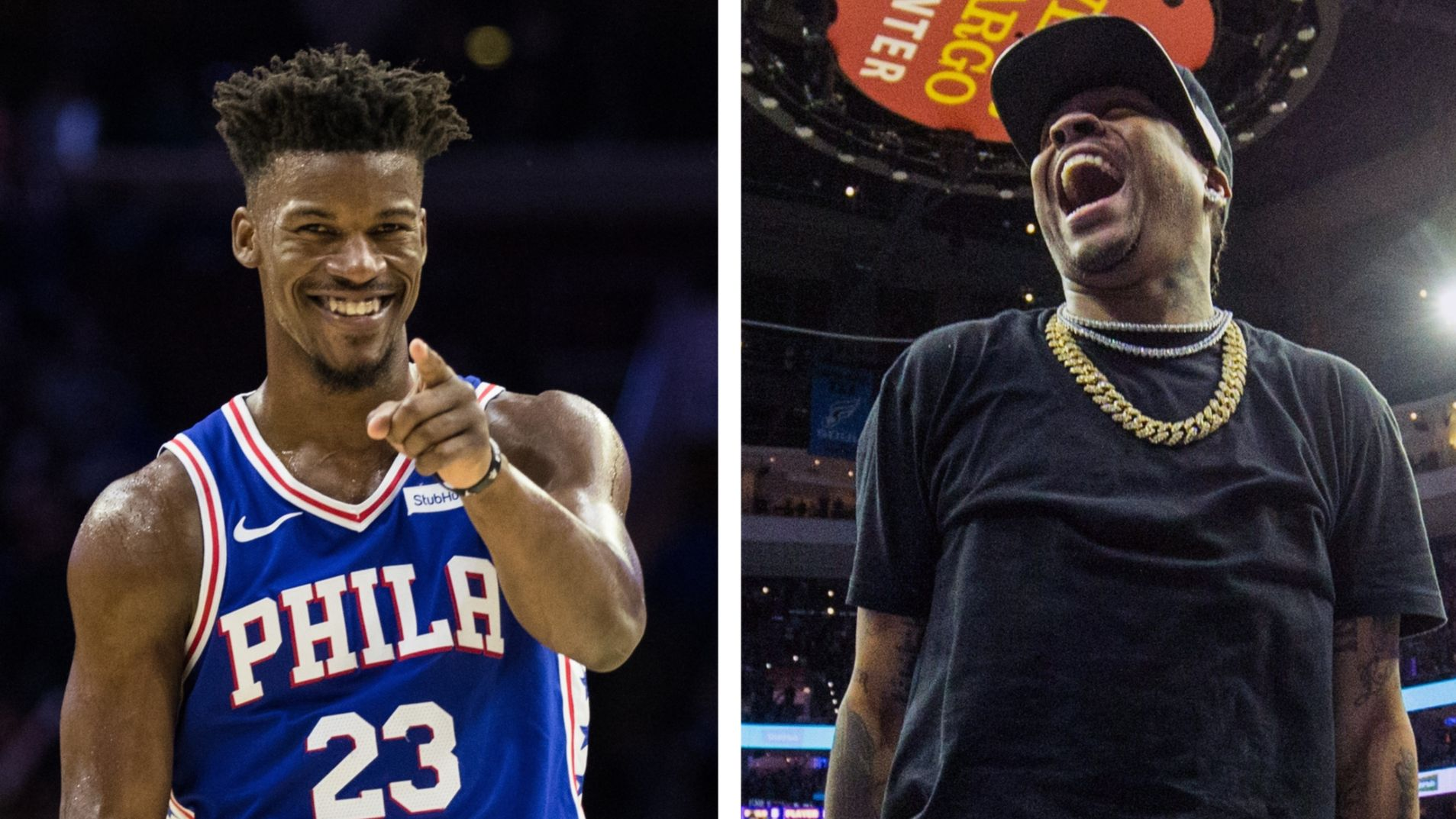 76ers\' Jimmy Butler talks about his love for Allen Iverson | 94 WIP