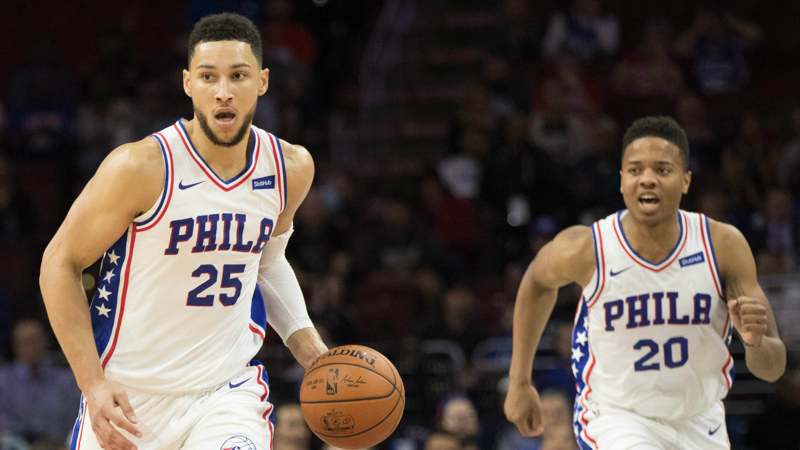 Image result for Ben Simmons and Markelle Fultz