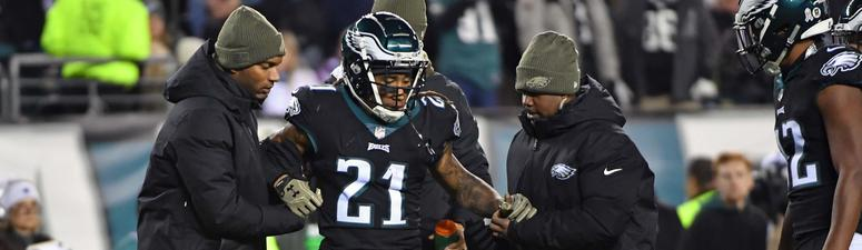 Eagles' Darby out for the season with ACL tear