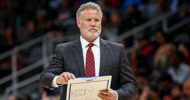 Brett Brown coaching