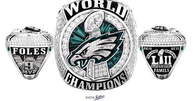 Eagles Super Bowl ring