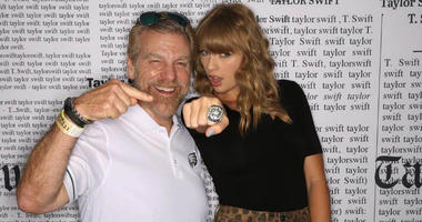 Howard Eskin and Taylor Swift