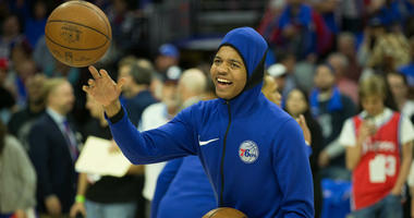 Markelle Fultz laughing