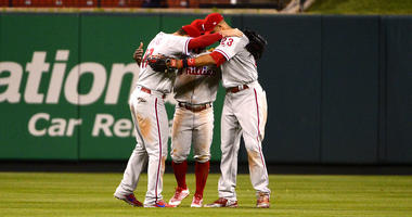 Phillies outfield