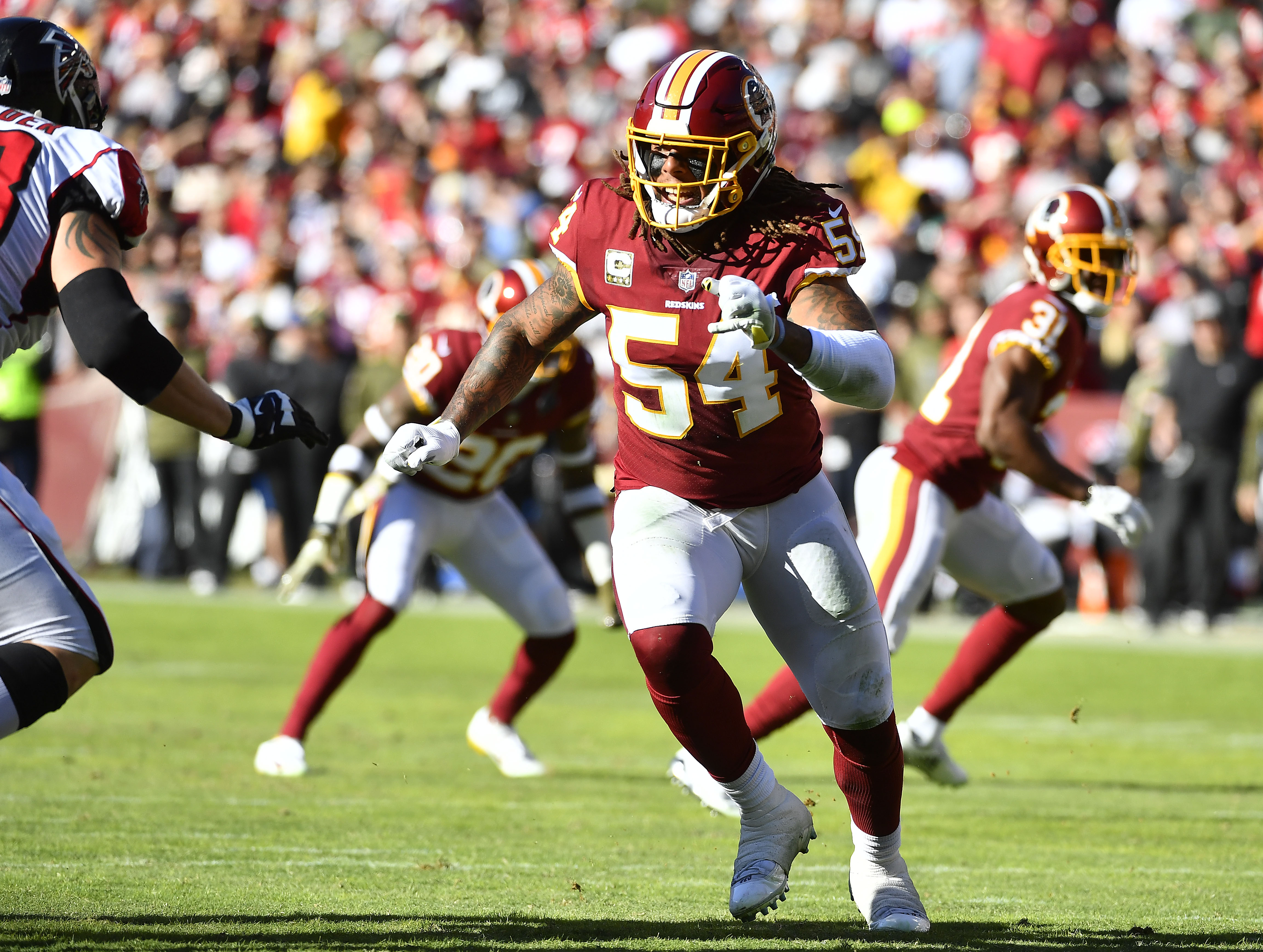 Redskins  Sports Junkies react to alleged Mason Foster comments ... acfa6db46