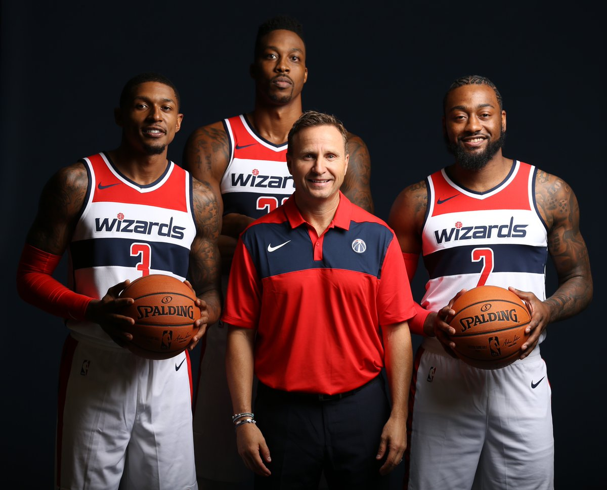 New-look Wizards revealed at 2018 Media Day  fed5f61a8