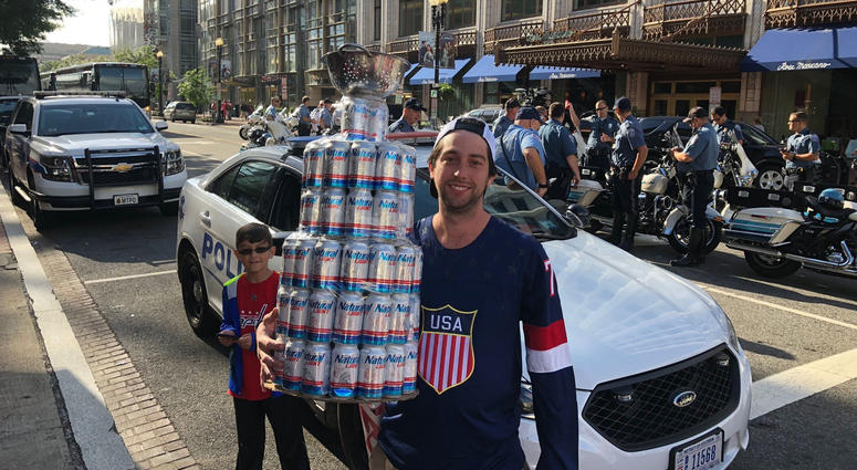 Photos of the Capitals Victory Parade
