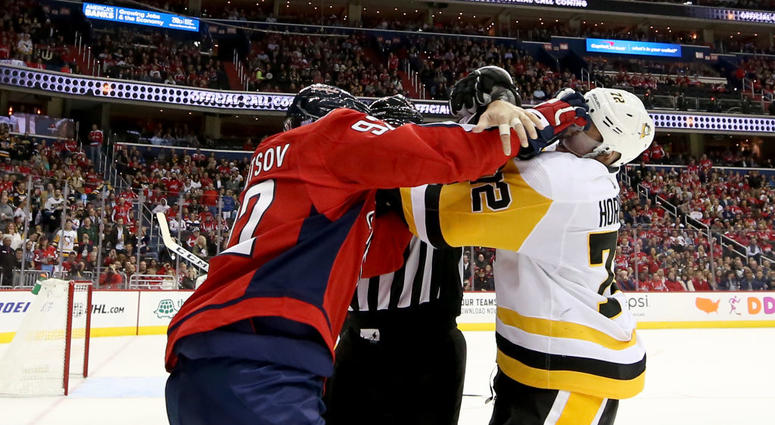The Caps' whirlwind remaining schedule begins tonight in Pittsburgh