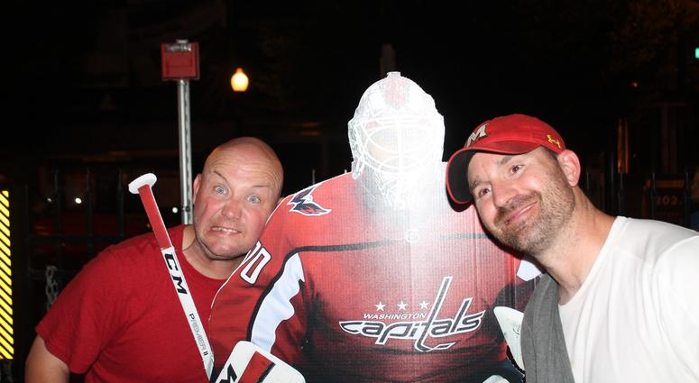 Cakes & EB hangout at The Brig for a Game 3 Hockey Finals Watch Party
