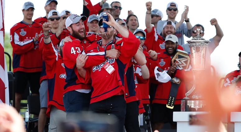 Capitals Victory Parade and Rally - Photos