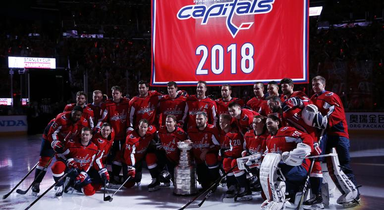 WATCH  D.C. turns out for Capitals  Banner Night  f33de508842