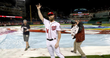 Nationals offer to Bryce Harper 'best we can do'