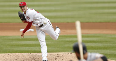 Patrick Corbin finally gets his first win as a National