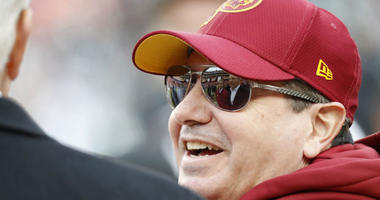 President Trump wants to attend a Redskins game, calls Dan Snyder 'really a good guy'