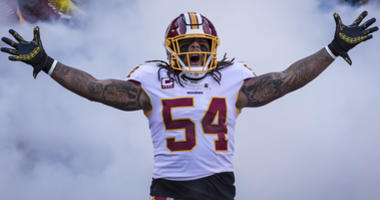 Redskins standing by Mason Foster after explosive DMs revealed
