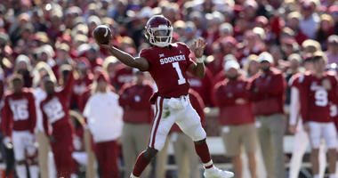 NFL prospect Kyler Murray is the hot prospect at the NFL Combine.