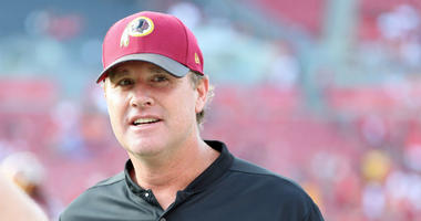 Redskins head coach Jay Gruden doesn't want to be the fall guy.